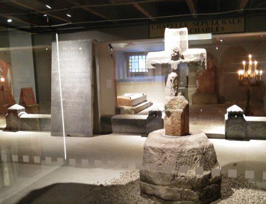 Crypte que l'on peut visiter à Longueuil